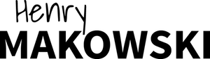 Henry Makowski Retina Logo